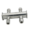 Sanitary Stainless Steel Tri Clamp Manifold Pipe