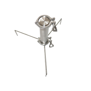 Sanitary open blast extractor
