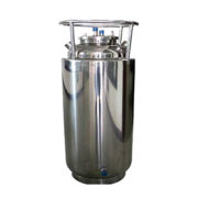 50# Stainless Steel Jacketed Solvent Recovery Tank with Sight Glass and Top Lid