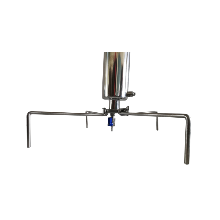 Closed Column Open Blast Extractor with BHO extraction tube with TriPod