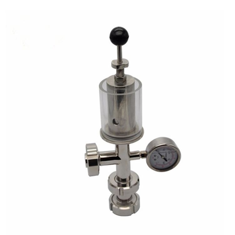 Sanitary Safety Overflow Valve Beer Tank Valve