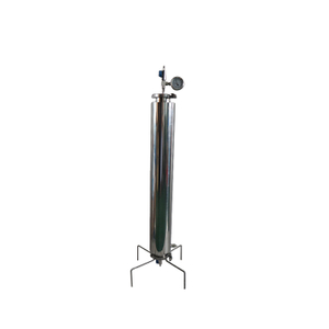 "1-2LB Closed Column Dewaxing Extractor With 3"" Clamp Stand"