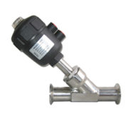 Pneumatic Stainless Steel Angle Seat Valve Tri Clamp