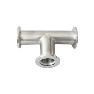 KF Vacuum Tee Quick Flange Fittings Plumbing Fittings