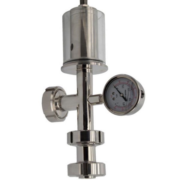 hygienic safety valve for beer tank