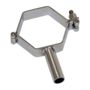 Stainless Steel Hexagon Tube Support Pipe Fittings