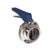 Tri Clamp Manual Butterfly Valves with Trigger Handle