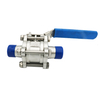 BPE Ball Valve with Long Auto Welded Tube