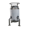Double jackted Solvent Recovery tank with Coil,With Legs