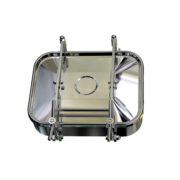 Stainless Hygienic Rectangle Tank Door Vessel Manhole Covers
