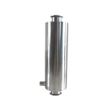 Sanitary Stainless Steel Dry Ice Sleeve with NPT ports for Essential Oil Extractor