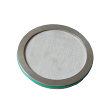 5 Micron Stainless Steel Sintered Filter Disk with Viton O-ring