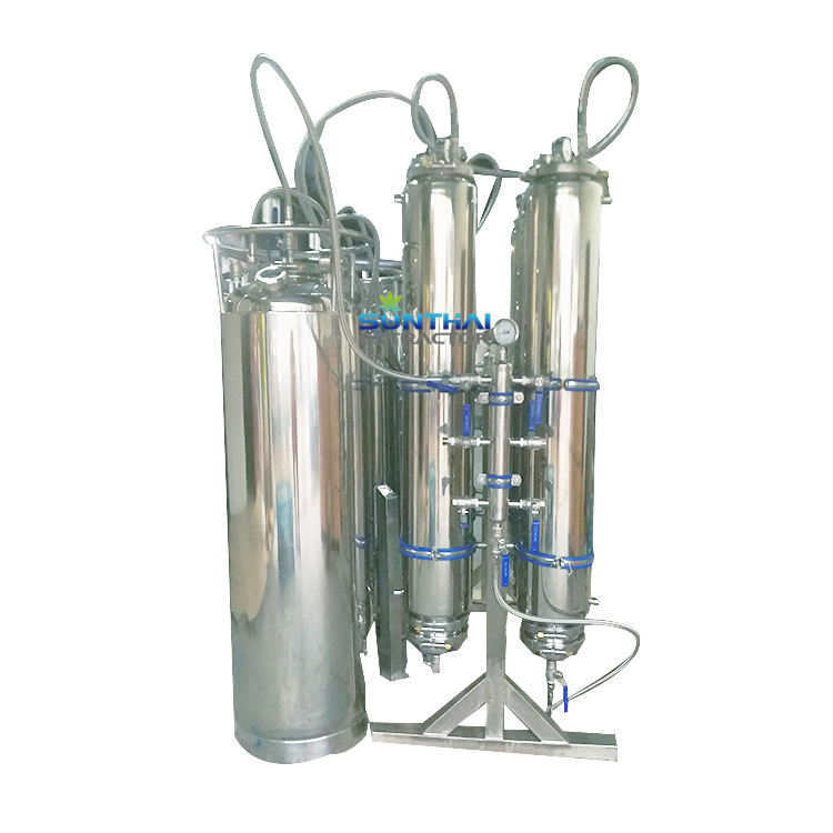50LB 100LB Rack Mounted BHO Extraction System Commercial Oil Extractor