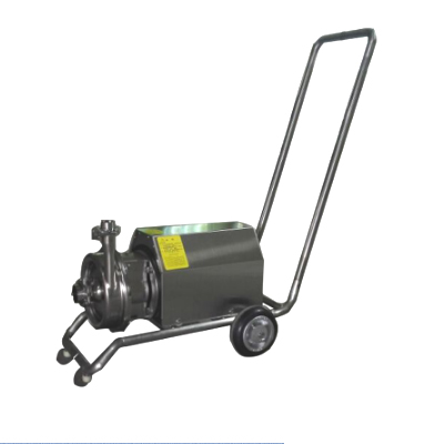 centrifugal pump with cart