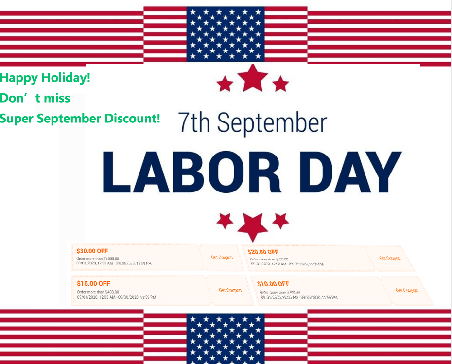 Happy Labor Day to U.S clients