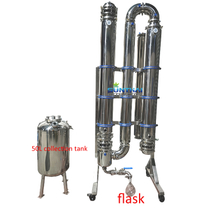 200L/hr Falling Film Evaporator in cannabis-processing process