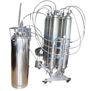 50LB Stainless Steel Rack Mounted Jacketed BHO Closed Loop Extractor